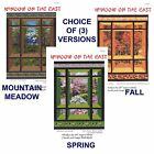 "Window on the East Wall Hanging Quilt Pattern, Great for 24"" Repeat, 3 Versions"