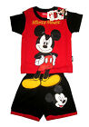 MICKEY MOUSE Boys toddler cotton summer outfit set Size S-L Age 1-3yrs Free Ship