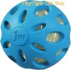 JW Pet Crackle Heads Ball Dog Toy small medium large color choice