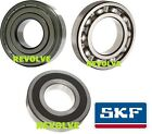 Genuine SKF 6200 Series Deep Groove Ball Bearing - 2RS ZZ Open - Choose Size