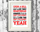 Swedish House Mafia - Song Lyrics Poster Music Typography Print Only