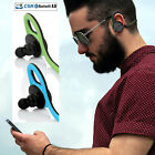 Bluetooth Wireless Headset Stereo Sport Headphone Earphone For iPhone Samsung