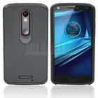 Hybrid Shockproof Rubber Hard Case Cover For Motorola Moto X Force Droid Turbo 2