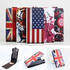 "For 5"" THL T100 T100s Smart Phone Printing PU Leather Case Card Pouch Cover Skin"