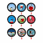 The Snoopy Dog Charlie Brown Peanuts Comic Cartoon Round Wall Clock Gift Ideas