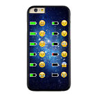 ipod touch 5g battery case - Emoji Face Battery Charge Image Hard Cover Case for iPhone 6S 5S 7 6 Plus S6 S7