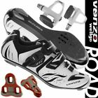 Venzo Road Bike For Shimano SPD SL Look Cycling Bicycle Shoes & Sealed Pedals