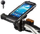 "Motorcycle M10 to 1"" Ball Stud Bike Mount + Tough Case for Samsung Galaxy S4"