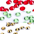 1440 x Strass thermocollant 2,8~3mm rouge doré vert clair scrapbooking perles