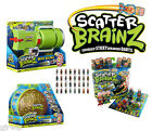 ScatterBrainz Toys Brain Bazooka Mental Case OR Deranged Darts All New & Sealed