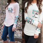 Chic Women's Ladies Long Sleeve Lace Tops Pullover Casual T-Shirt Tops Blouses