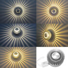 85-265V 3W Spiral LED Wall Sconce Ceiling Light Bedroom Porch Hotel bulb