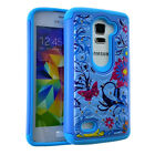 Leon LTE C40 / Tribute 2 LS665 - Diamond Bling Hard&Soft Rubber Hybrid Skin Case