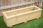 WOODEN TROUGH PLANTERS IN VARIOUS SIZES