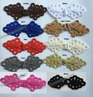 large Chinese frog closure fasteners Cheongsam knot button 16color pick Diy