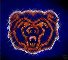 Bears Football Rhinestone Hoodie Sweatshirt ~ Sizes S M L XL 2X