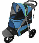 DOG STROLLER CARRIAGE JOGGER HEAVY DUTY FOR LARGE DOGS TO 75 LBS SHIPS FROM USA