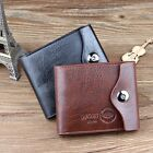 *US SHIP* New Men's Bifold Wallet Leather Credit Card ID Coins Holder Slim Purse