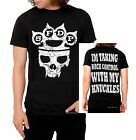 Five Finger Death Punch T-Shirt 5FDP Knuckles metal rock Official M L XL NWT