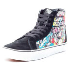 Vans Disney SK8-Hi Reissue Womens Suede & Canvas Black Multi Trainers