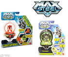 Maxx Steel Turbo Battlers Dredd or Toxon Rip High Speed Pull Spinners
