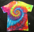 MULTICOLOR SPIRAL TIE DYE T-SHIRT