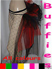 Burlesque Tutu Moulin Rouge Belt Sizes 6-30 Loads Of Colours! Gothic Bustle Emo