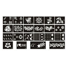 TA05 1 Sheet, 10 Sheets Body Art Tattoo Stencil Series-No.121-142