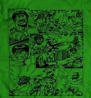 INCREDIBLE HULK T-shirt - CUSTOM COMIC STRIP DESIGN **OLD SKOOL** RARE ART image
