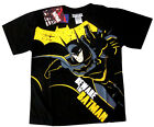 Boys BATMAN black cotton summer t-shirt Size 6,8,10,12 Age 4-8y Free Ship
