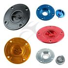 CNC keyless Tank Fuel Gas Cap Cover For SUZUKI GSF1200 GS600F HAYABUSA GSXR 1300