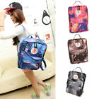 Galaxy Pattern Unisex Travel Backpack Canvas Leisure Bag School bag Rucksack lah