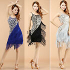 Women's Ballroom Latin dancewear Costumes Rumba Samba Dance Dress Tassels Skirt