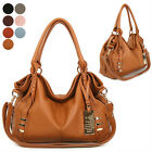 WOMENS HANDBAG BERKERY TOTE SATCHEL SHOULDER CROSS BAG GENUINE COWHIDE LEATHER