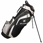 STUBURT GOLF STAND BAG NEW WAY DIVIDER TOP LIGHTWEIGHT CARRY DUAL STRAP MEN 2016