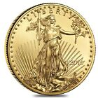2016 1 2 oz Gold American Eagle $25 Coin BU