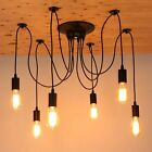 Industrial Style Vintage Loft Chandelier Ceiling Pendant Head Light Lamp Retro