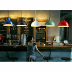 Modern Industrial Loft Bar Metal Pendant Lamp Iron Shade Hanging Ceiling Light