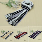 Hot Sales Men's Winter New Popular Classical Artificial Wool Tassels Long Scarf