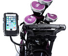 Golf Trolley Long Arm Clamp Mount + Waterproof Case for Apple iPhone 6 6s 4.7