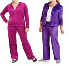 NYC Alliance Big Women's Plus Size Velour Hooded Hoodie Tracksuit  Pick One