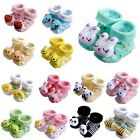 Unisex Cute Baby Toddler Girl Anti-slip Warm Socks Animal Shoes Boots 0-6 Months