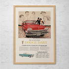 1960 DODGE DART AD - Retro Car Ad - Dodge Car Poster Dodge Dart Poster Retro Car $24.95 USD on eBay