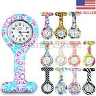 New Cute Silicone Nurse Watch Brooch Tunic Fob Pendant Movement Pocket Watches