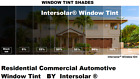 """2 Ply Window Tint Black Residential Commercial Automotive 30"""" Inches Wide"""