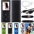 "8GB Slim Digital MP3 MP4 Player 1.8""LCD Screen FM Radio Video Player Games Movie"