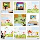 Pastoral Scenery Home Room Decor Removable Wall Sticker Decal Decoration