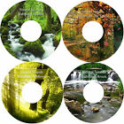 Natural Sounds Woodland Autumn Brook Stream 4 CD's Relaxation Stress Relief
