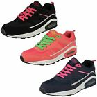 Ladies Comfortable Airtech Lace Up Trainer