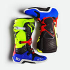 Alpinestars MX Tech 10 Boot - A1 Tomac Blue Yellow Red Limited Offroad Enduro Mo